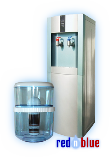 Vanndispenser Standalone RednBlue